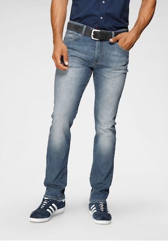 TOM TAILOR Polo Team 5-Pocket-Jeans »DAVIS«, mit used Waschung kaufen