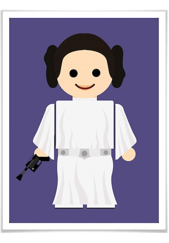 Wall-Art Poster »Playmobil Prinzessin Leia Spielzeug«, Kinder, (1 St.), Poster,... kaufen