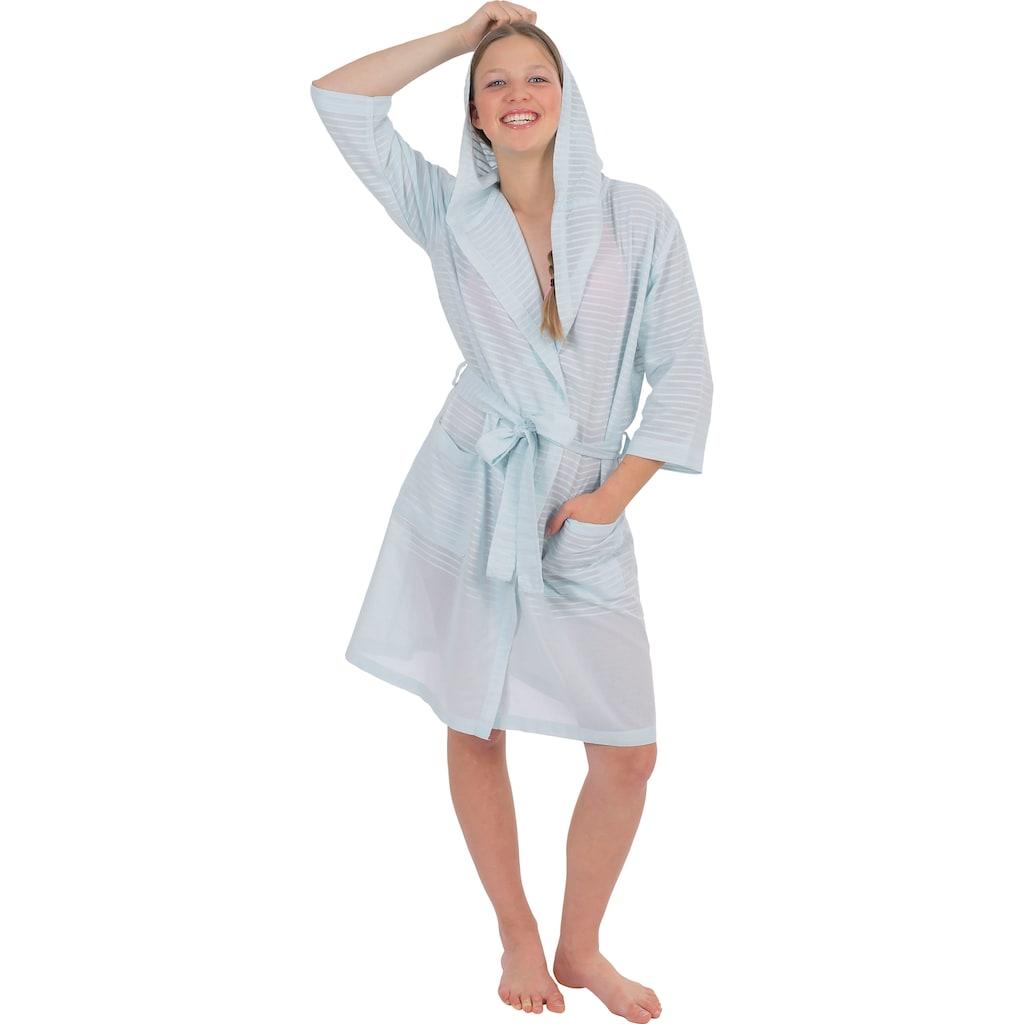 Wewo fashion Damenbademantel »6352«, aus leichtem Pestemal