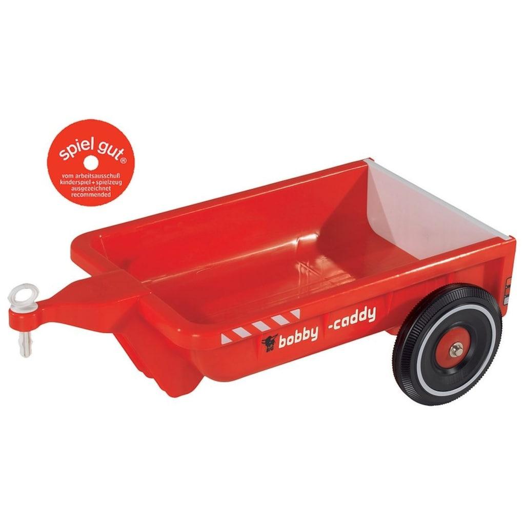 BIG Kinderfahrzeug-Anhänger »BIG-Bobby-Caddy, rot«, Made in Germany
