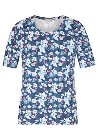 Rabe Rundhalsshirt, mit floralem Allover-Print kaufen
