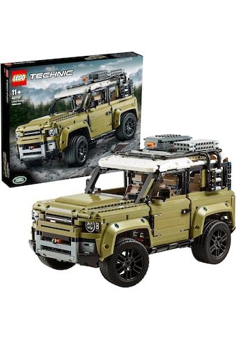 """LEGO® Konstruktionsspielsteine """"Land Rover Defender (42110), LEGO® Technic"""", Kunststoff, (2573 - tlg.) kaufen"""