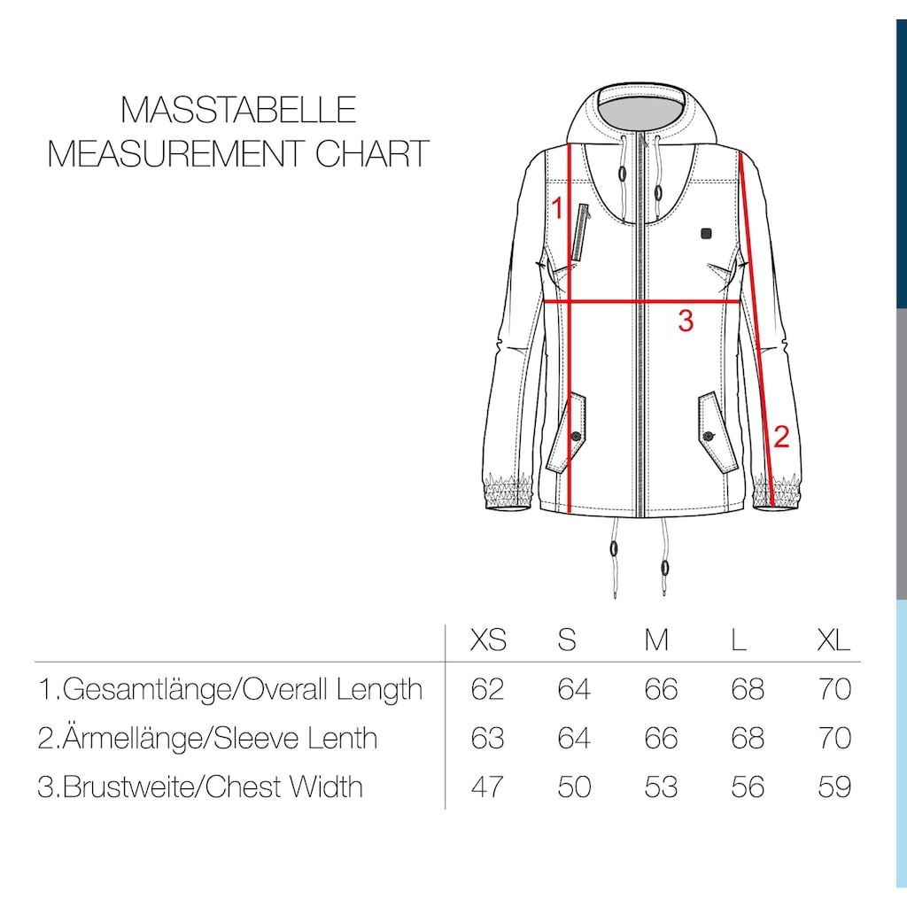DESIRES Kurzjacke »Tilda«, Übergangsjacke mit kontrastfarbenen Reißverschlüssen