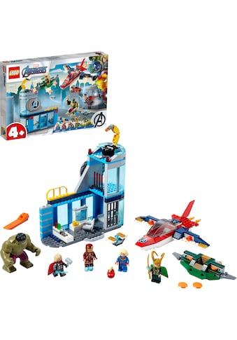"LEGO® Konstruktionsspielsteine ""Avengers – Lokis Rache (76152), LEGO® Marvel Super Heroes™"", Kunststoff, (223 - tlg.) kaufen"
