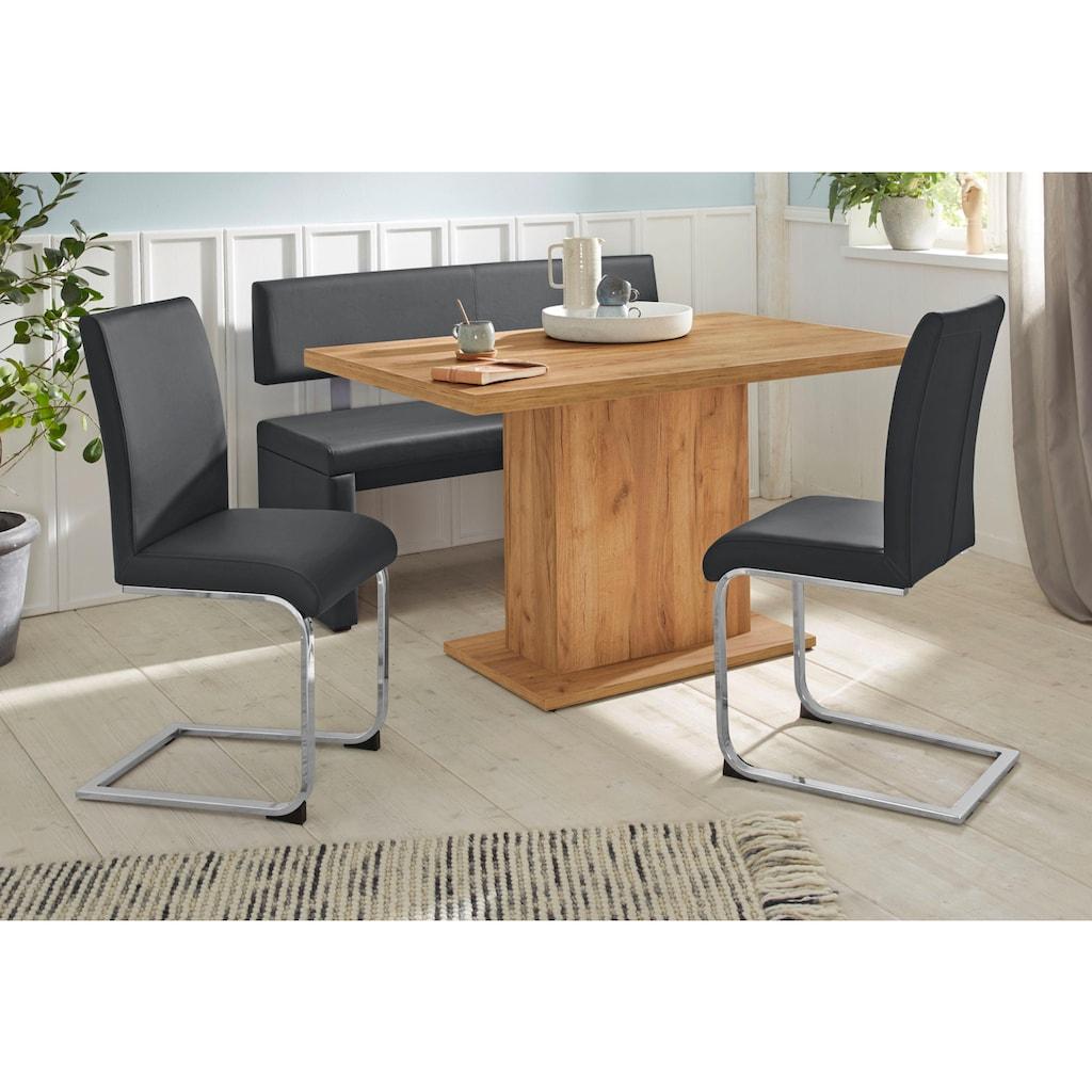 Sitzbank »Charissa«, Breite 160 cm mit Bezug in Kunstleder