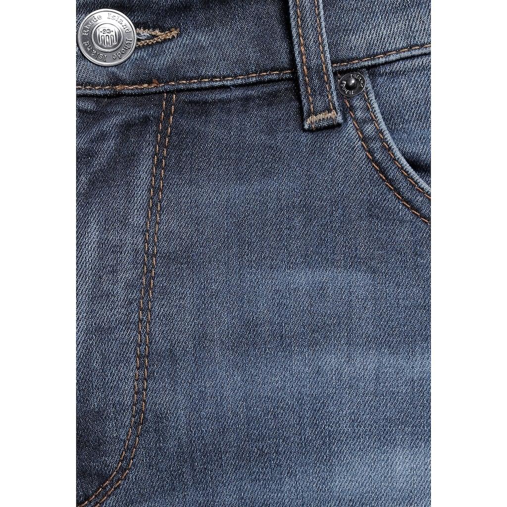 Rhode Island 5-Pocket-Jeans »Quinn«, mit Logobadge