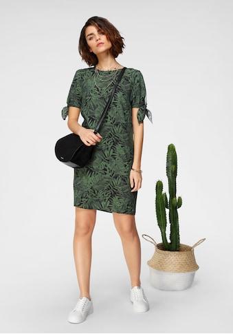 Tamaris Blusenkleid, mit Knoten-Detail an den Ärmeln - NEUE KOLLEKTION kaufen