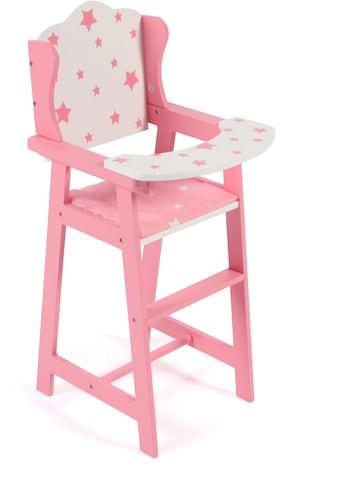 CHIC2000 Puppenhochstuhl »Stars pink« kaufen