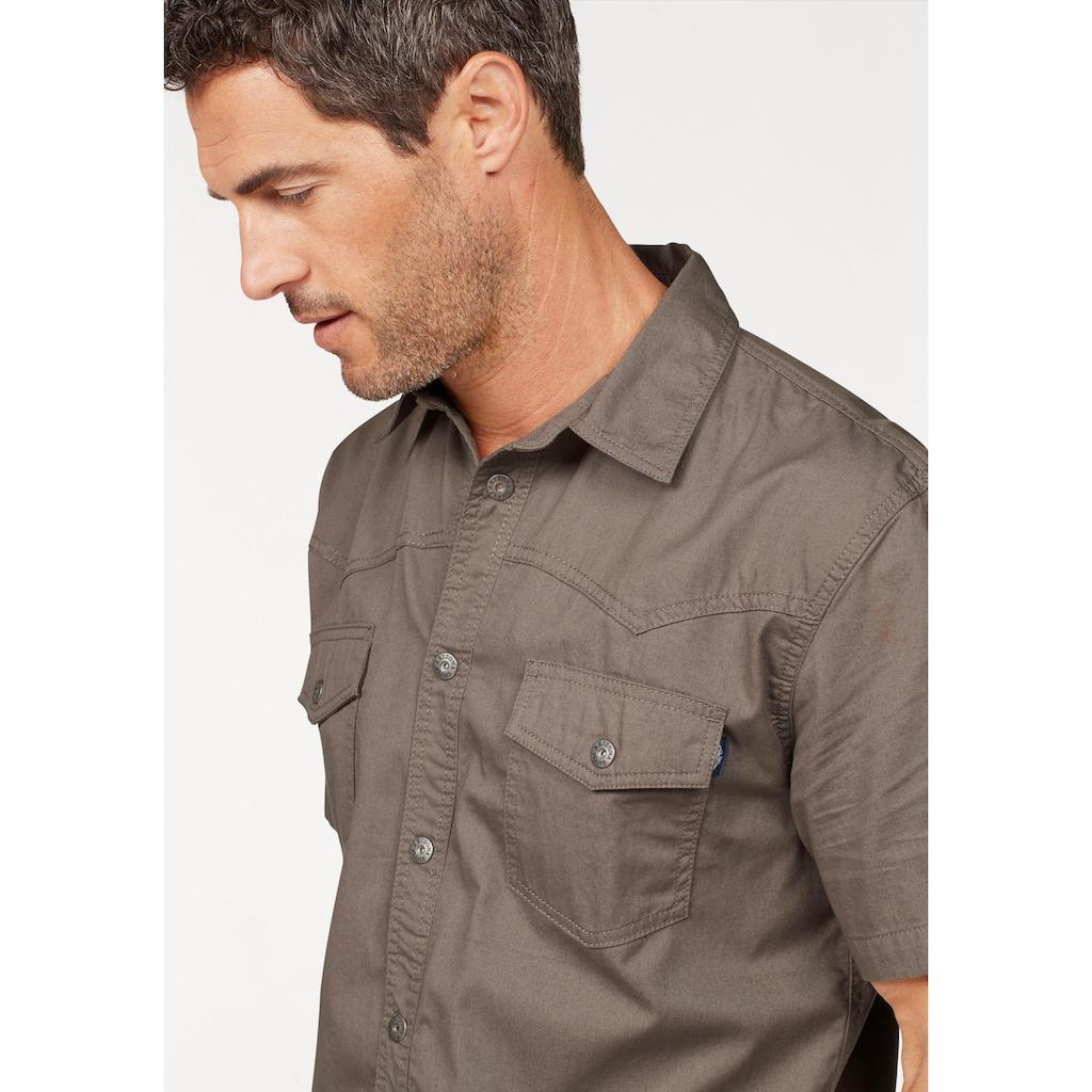 Arizona Kurzarmhemd, im Western-Stil