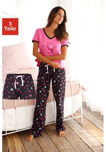 Vivance Dreams Pyjama (3 - tlg.) kaufen