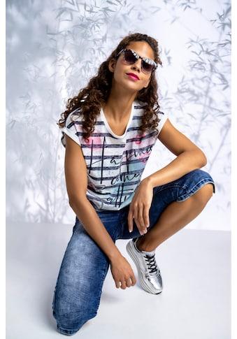 SOCCX Caprijeans »Sandy«, mit bestickten Tascheneingriffen vorne kaufen