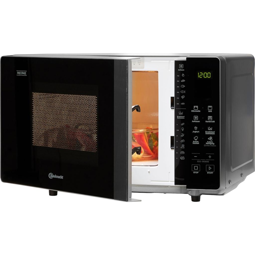 BAUKNECHT Mikrowelle »MF 203 SB«, Grill-Mikrowelle, 800 W