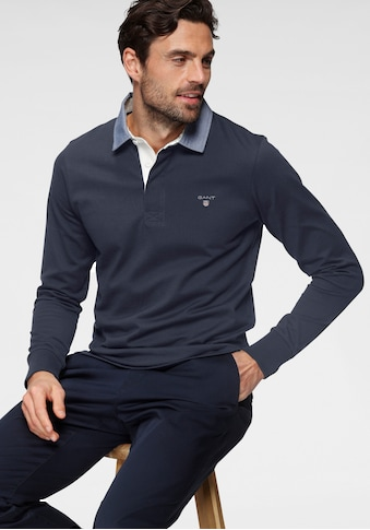 Gant Langarm-Poloshirt »ORIGINAL HEAVY RUGGER« kaufen