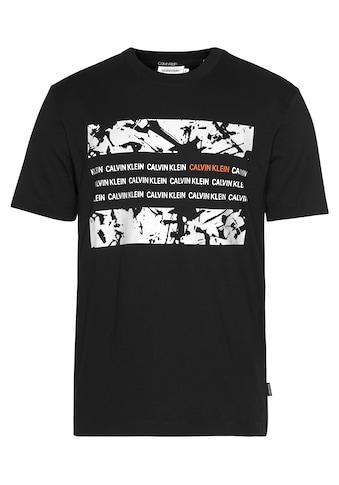 Calvin Klein T - Shirt »GRAPHIC BOX T - SHIRT« kaufen