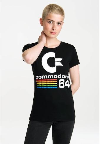 LOGOSHIRT T-Shirt mit Commodore 64-Logo kaufen