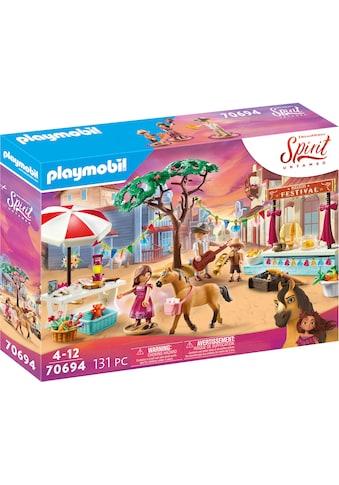 Playmobil® Konstruktions-Spielset »Miradero Festival (70694), Spirit Untamed«, Made in... kaufen