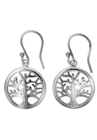 Vivance Paar Ohrhaken »925/- Sterling Silber Lebensbaum«, rhodiniert kaufen