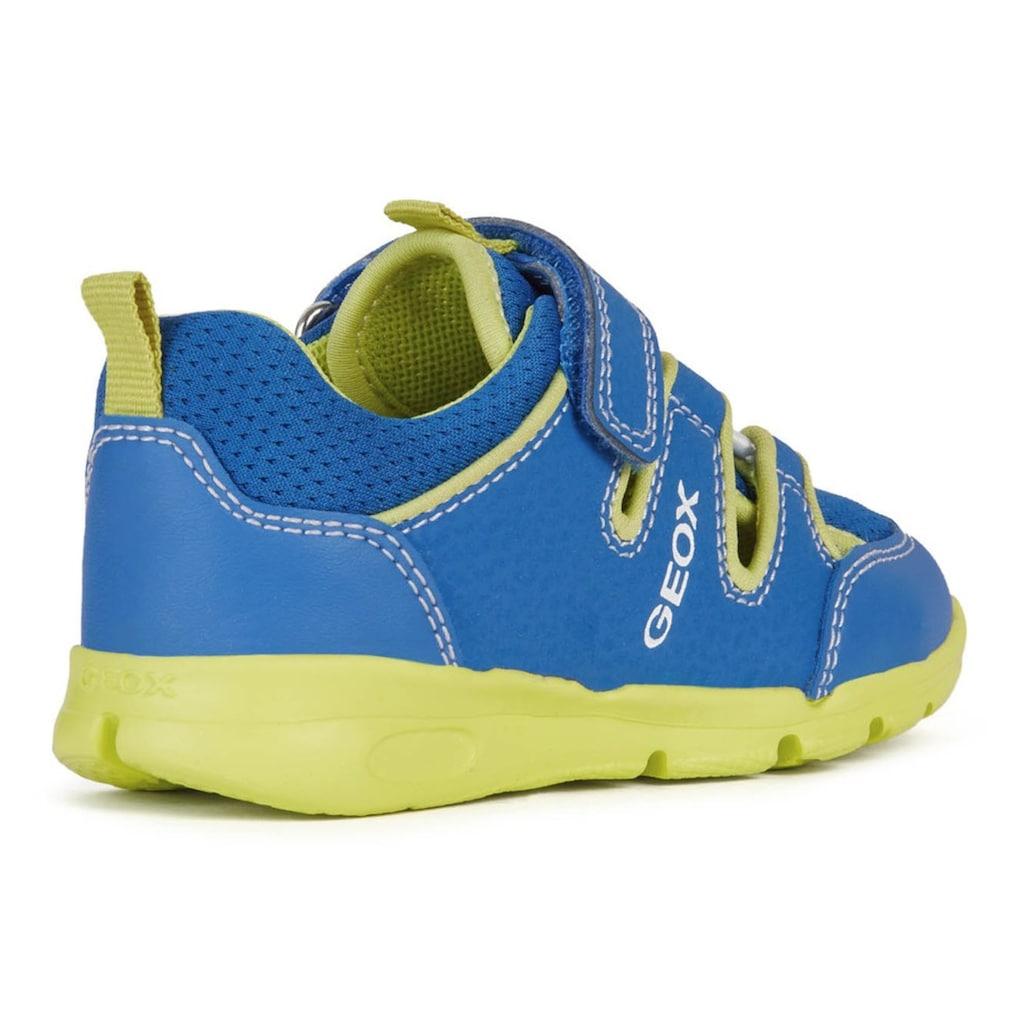 Geox Kids Klettschuh »RUNNER BOY«, mit patentierter Geox Spezialmembrane
