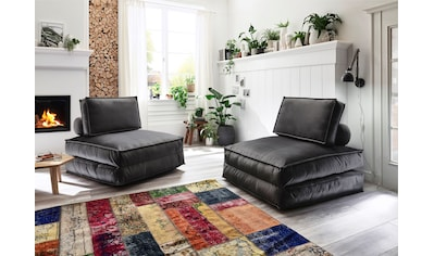 ATLANTIC home collection XXL-Sessel, XXL-Sessel wandelbar zum Gästebett kaufen