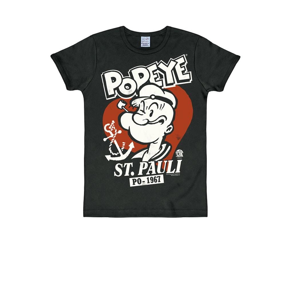 LOGOSHIRT T-Shirt mit tollem Popeye-Frontprint