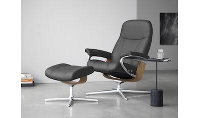 Stressless® Relaxsessel »Consul«, mit Cross Base, Größe S, M & L, Gestell Eiche kaufen