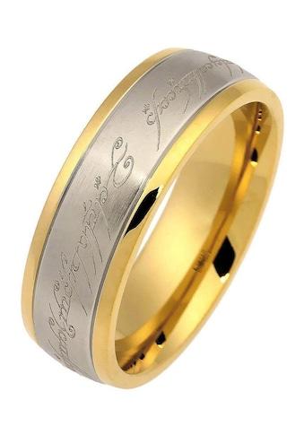 Der Herr der Ringe Fingerring »Der Eine Ring - Edelstahl bicolor, 20002165«, Made in... kaufen