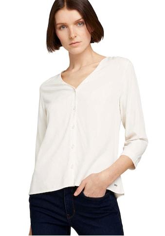 TOM TAILOR Denim Hemdbluse, mit V-Ausschnitt kaufen