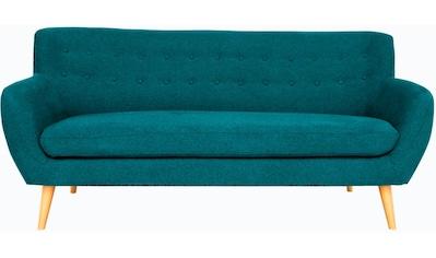 Home affaire 3-Sitzer »Noris«, mit Zierknopfheftung im Rücken, skandinavischer Stil,... kaufen