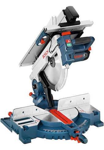 Bosch Professional Kapp- und Gehrungssäge »GTM 12 JL«, kombiniert mit Tischkreissäge kaufen