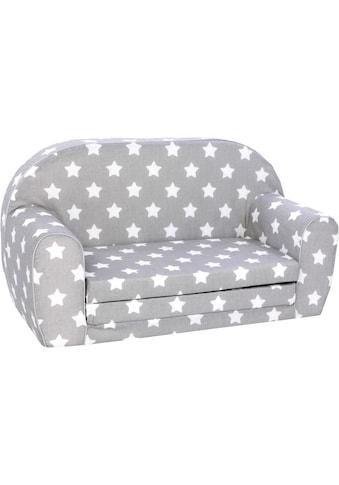 Knorrtoys® Sofa »Grey White Stars«, für Kinder; Made in Europe kaufen