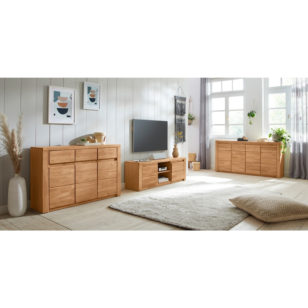 Premium collection by Home affaire Sideboard »Burani«, grifflose Optik