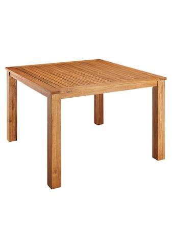 MERXX Gartentisch »Toskana«, 110x110 cm kaufen