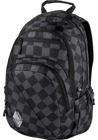 NITRO Schulrucksack »Stash 29, Black Checker« kaufen