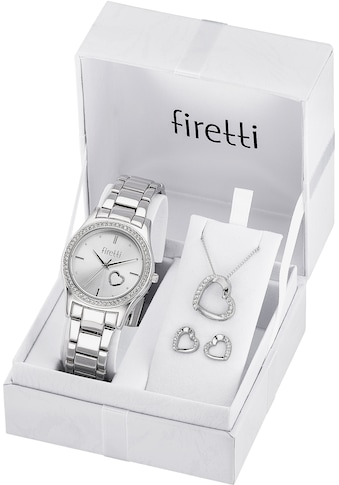 Firetti Quarzuhr (Set, 5 tlg., mit Anhänger, Kette und 1 Paar Ohrsteckern) kaufen
