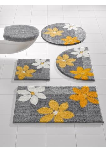 Badgarnitur im Blumen - Design kaufen