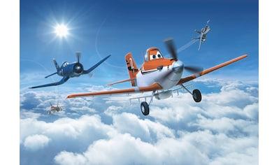 Komar Fototapete »Planes Above the Clouds«, bedruckt-Comic, ausgezeichnet lichtbeständig kaufen