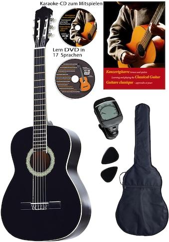 "Clifton Konzertgitarre ""Konzertgitarren Set, 4/4"" 4/4 kaufen"