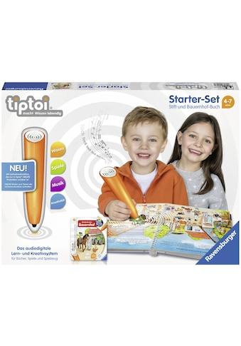"""Ravensburger Spiel, """"Starter - Set tiptoi® CREATE Stift und tiptoi® Buch, Entdecke den Bauernhof"""" kaufen"""