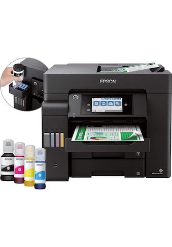 Epson Tintenstrahldrucker »4-in-1-Drucker«, EcoTank ET-5800 kaufen