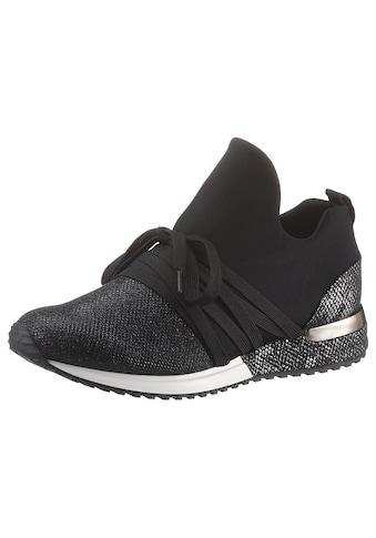 La Strada Slip-On Sneaker »Fashion Sneaker«, mit Kontrastbesatz im Animal Look kaufen