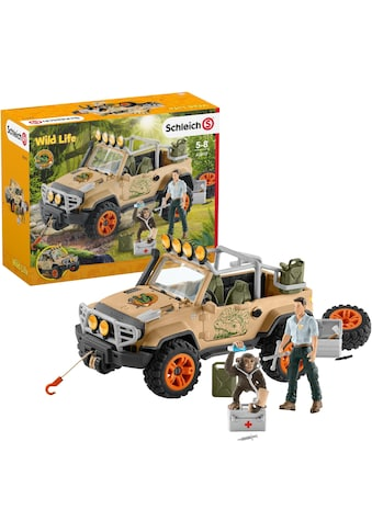 """Schleich® Spielzeug - Auto """"Wild Life, Geländewagen mit Seilwinde (42410)"""" (Set) kaufen"""