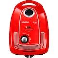 SIEMENS Bodenstaubsauger »Plus Limited Edition iQ300 VSP3AAAA, rot,«, 750 W, mit Beutel, Bodendüse für Parkett, Teppich, Fliesen