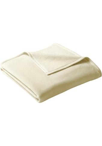 BIEDERLACK Wohndecke »Uno Cotton«, in schönen Farben kaufen