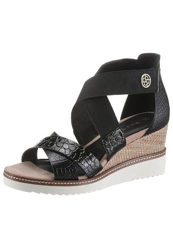 bugatti Sandalette »ESRA EVO«, mit Schmuckelement kaufen