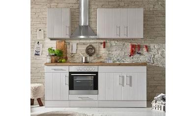 RESPEKTA Küchenzeile »Ulm«, mit E-Geräten, Breite 210 cm kaufen