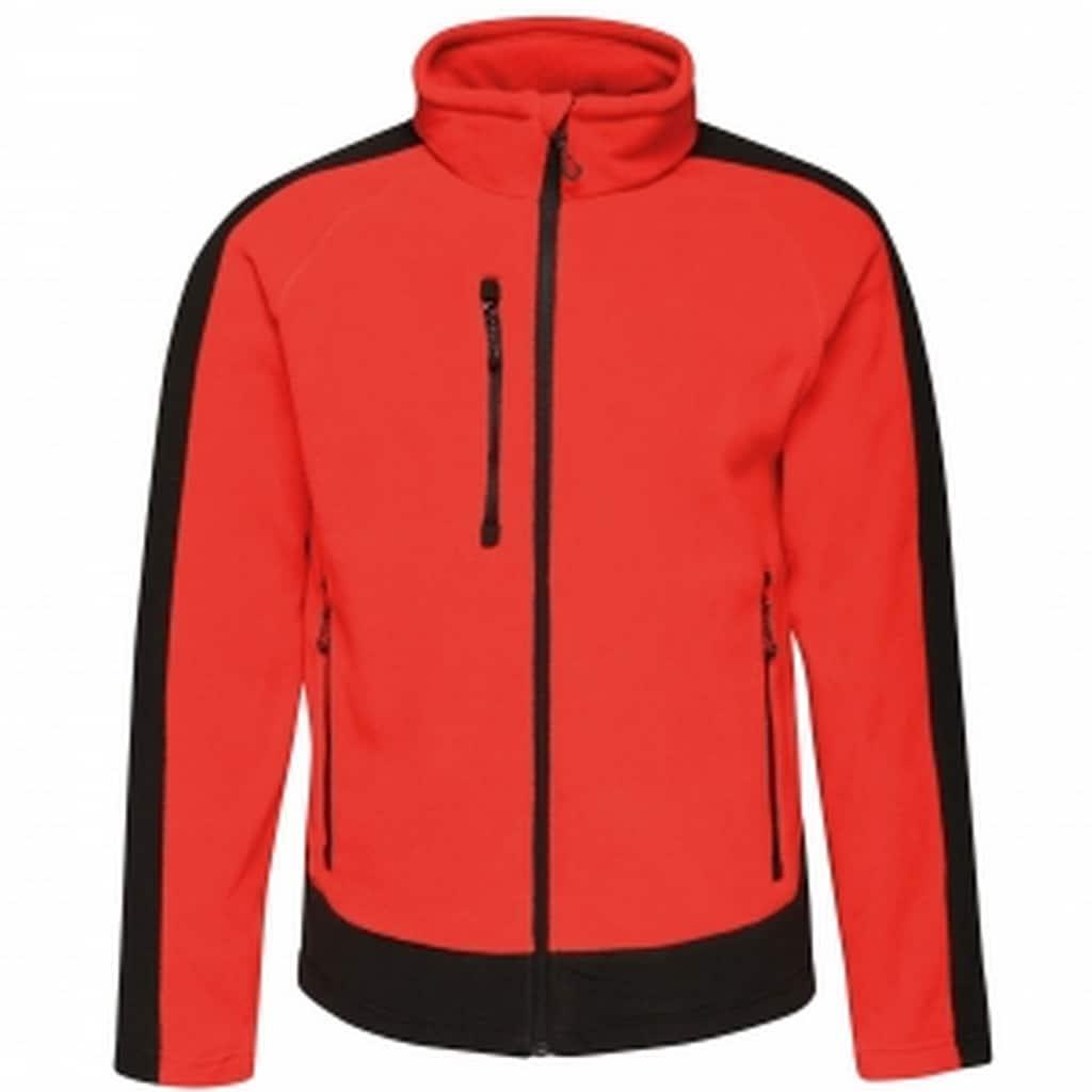 Regatta Fleecejacke »Herren Fleece-Jacke in Kontrastfarben«