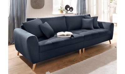 Home affaire Big-Sofa »Blackburn Luxus«, mit besonders hochwertiger Polsterung für bis zu 140 kg pro Sitzfläche kaufen