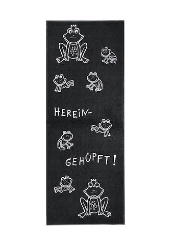 Fußmatte Hereingehüpft Hereingehüpft, waschbar kaufen