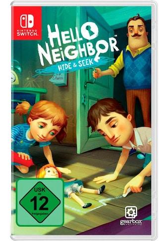 Hello Neighbor Hide & Seek Nintendo Switch kaufen