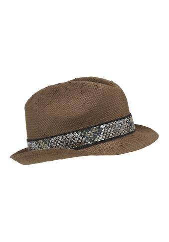 Hut mit Zierband kaufen